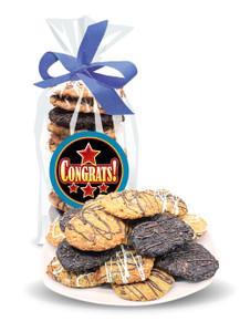 Congratulations Crispy & Chewy Artisan Cookies