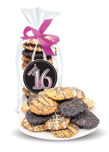 Sweet 16 Crispy & Chewy Artisan Cookies