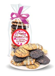 Valentine's Day Crispy & Chewy Artisan Cookies