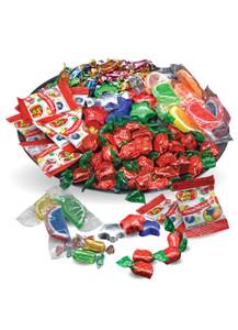 Assorted Wrapped Candy Platter