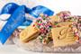 Joeyjoy Raspberry Filled Sandwich Butter Cookies in Custom Platter