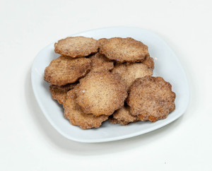 Cinnamon Crisp Butter Cookies