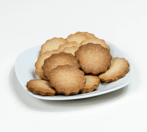 Plain Triple-Baked Butter Cookies