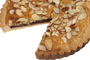 Almond Raspberry Cookie Pie - Sliced