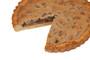 Chocolate Chip Cookie Pie Sliced