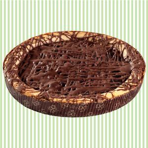 Raspberry Chocolate Cookie Pie