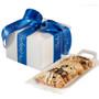 Biscotti Custom Gifts - Box with Blue Ribbon
