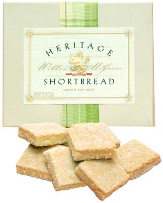 Lemon Shortbread Cookies - Box