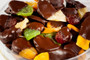 Chocolate Dipped Dried Mixed Fruit Assortment