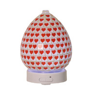 Aroma Red Heart Ultrasonic Diffuser