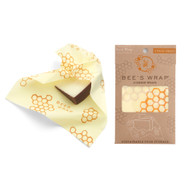 Set of 3 Beeswax Cheese Wraps, Honeycomb