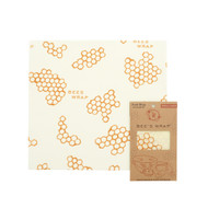 Single Large Beeswax Wrap, Honeycomb
