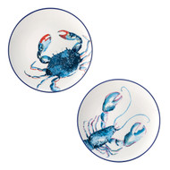 English Tableware Co. Dish of the Day Set of 2 Side Plates