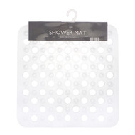 Country Club Shower Mat, White