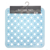 Country Club Shower Mat, Blue