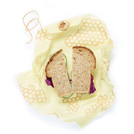 Single Sandwich Beeswax Wrap, Honeycomb