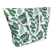 Country Club Beach Cooler Tote Bag, Leaf