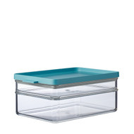 Mepal Omnia Breakfast Duo Layer Storage Box, Nordic Green