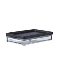Mepal Omnia 1 Layer Meat Storage Box, Nordic Black