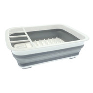 Collapsible Drainer with Rack
