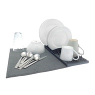 Microfibre Sink Mat with Drainer