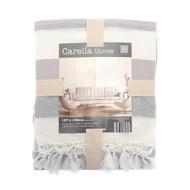 Country Club Carella Stripe Throw 127 x 152 cm