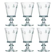 La Rochere Set of 6 Bee Water Glasses, 35cl