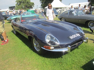 Jaguar E Type Series I Roadster
