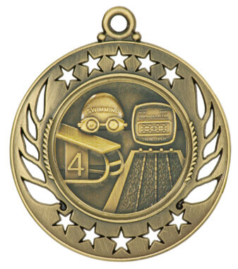 Swimming Galaxy Medal