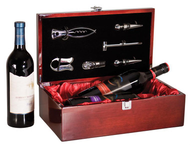 Double Bottle Presentation Box with tools