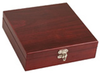Rosewood Flask Set w/ Games