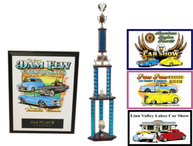 CAR SHOW PLAQUE BUNDLE 3