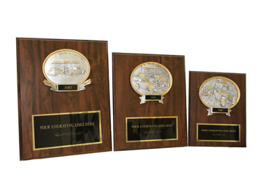 Resin Oval Plaques
