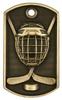 Hockey 3-D Dog Tag