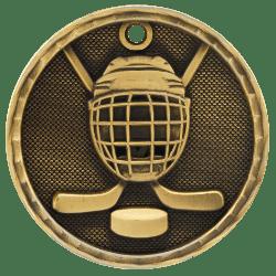 Hockey 3-D Medal