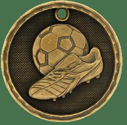 Soccer 3-D Medal