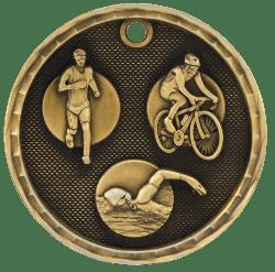 Triathalon 3-D Medal