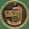 Reading 3-D Medal