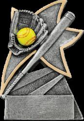 Softball Jazz Star Resin