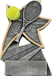 Tennis Jazz Star Resin