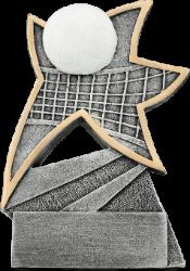 Volleyball Jazz Star Resin