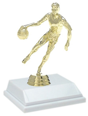 Basketball Male 6 Inch Trophy