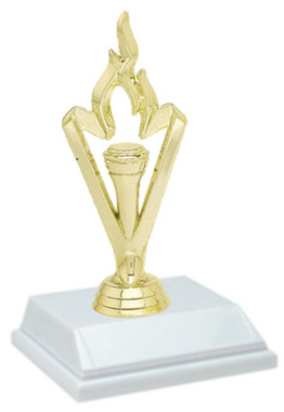 Victory Flame 6 Inch Trophy
