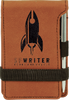 Leather Notepad with Pen