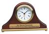 Mantel Rosewood Piano Finish Desk Clock