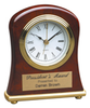 Bell Shaped Rosewood Piano Finish Desk Clock
