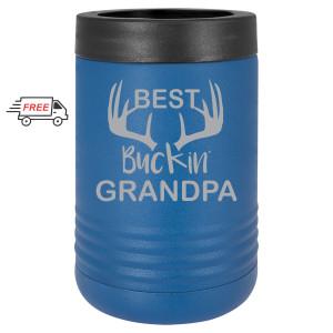 Best Buckin' Grandpa Beverage Holder