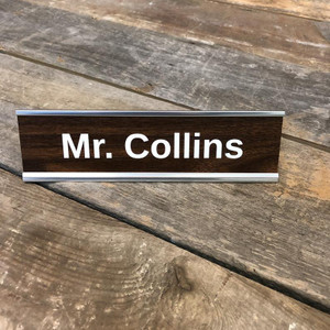 Personalized Name Desk Sign