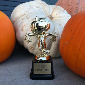 Halloween Jack-o-Lantern Trophy