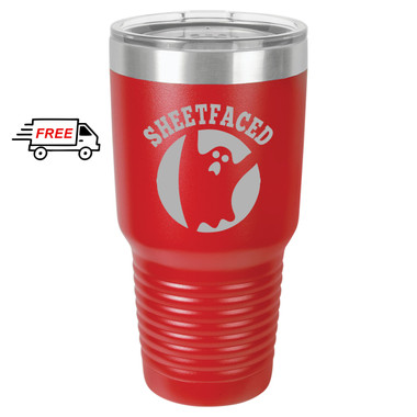 Halloween Sheetfaced 30oz Stainless Steel Tumbler
